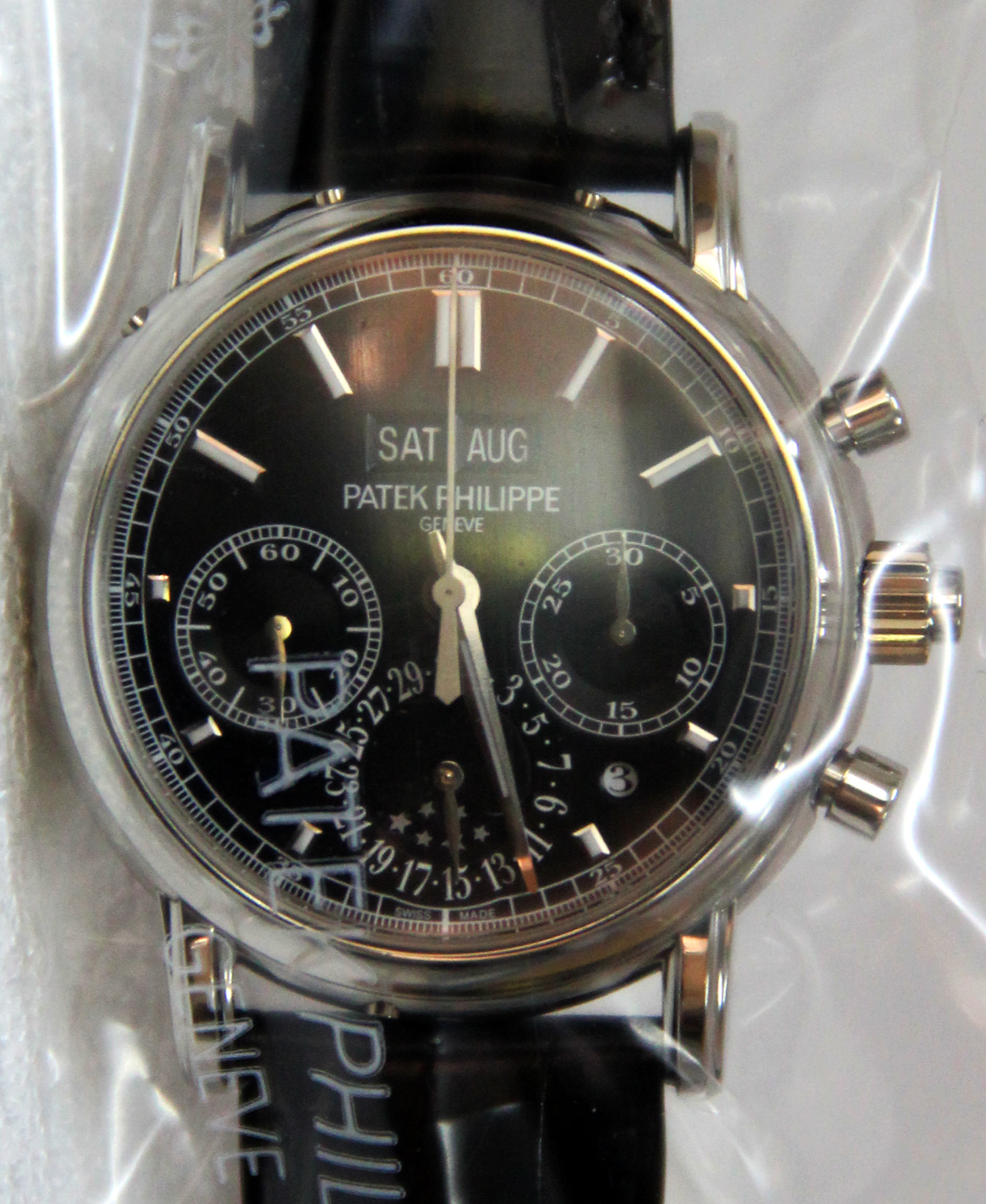 newest 9b916 cc9e6 SPLIT-SECONDS CHRONO PERPETUAL CALENDAR (REF: 5204P-011 ...
